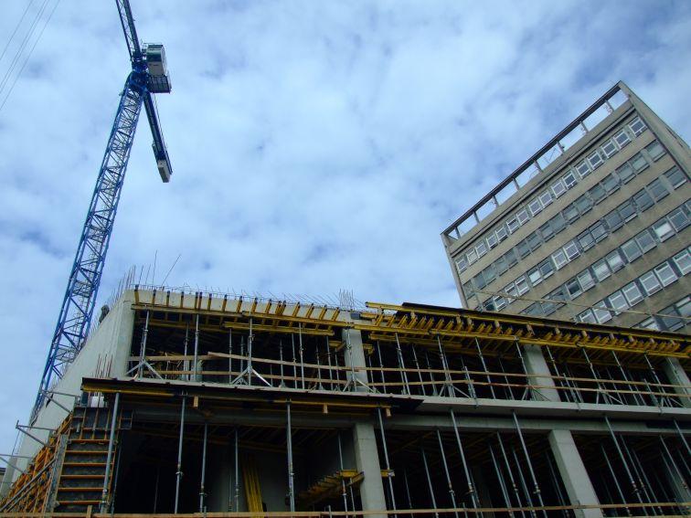 Budowa budynku dydaktycznego Instytutu Informatyki UMCS