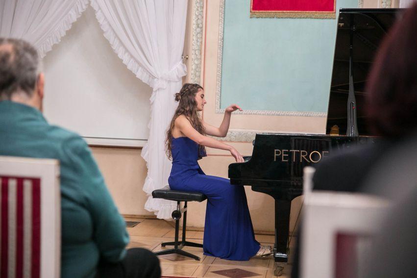 Recital fortepianowy pianistki Weroniki Siewierskiej.