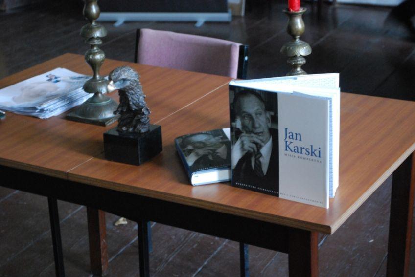 """Promocja monografii - """"Jan Karski. Misja kompletna"""""""