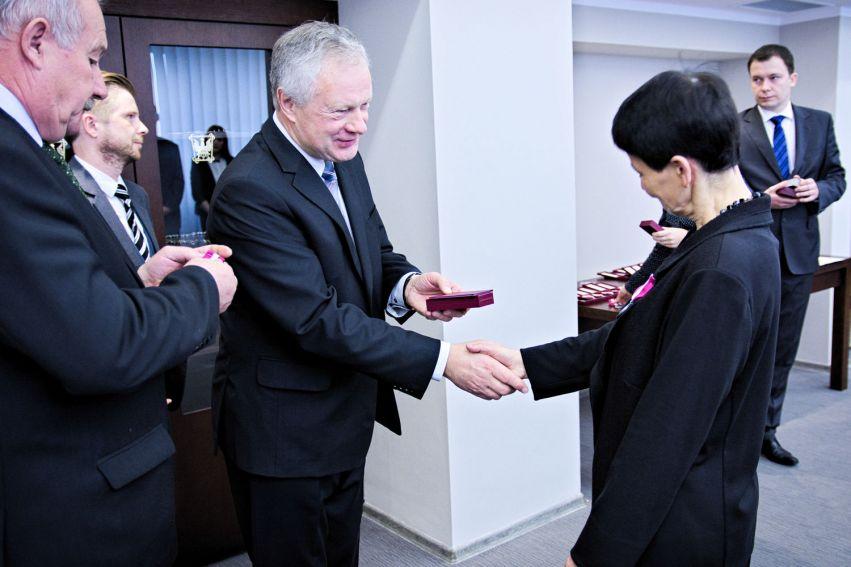 Wręczenie odznaczeń państwowych i resortowych - 9.11.2015 r.