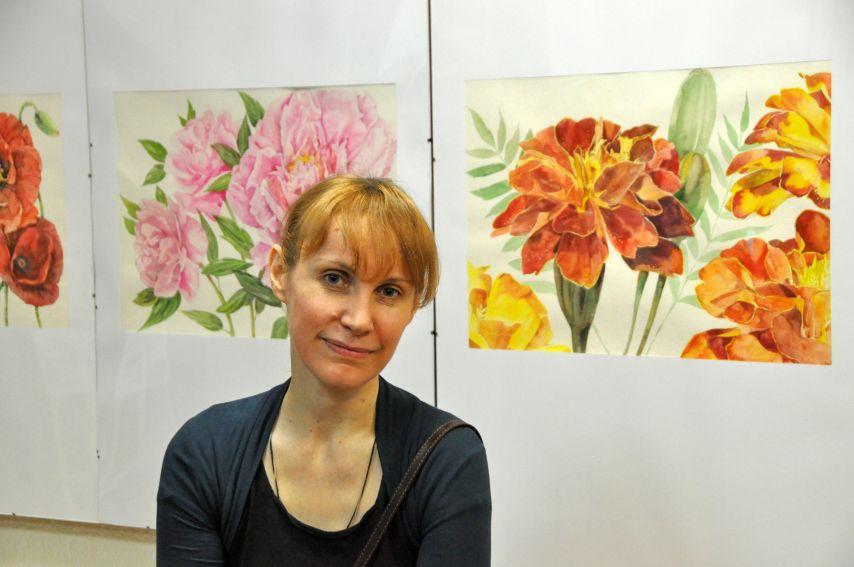 """Wystawa malarstwa Ireny Muraszki – """"W świecie roślin i..."""