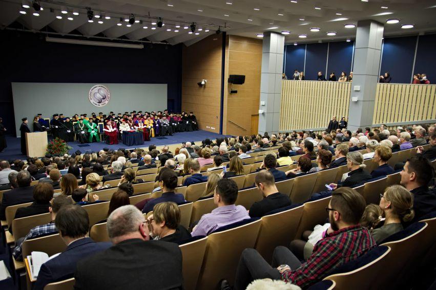 Uroczysta promocja doktorów i doktorów habilitowanych