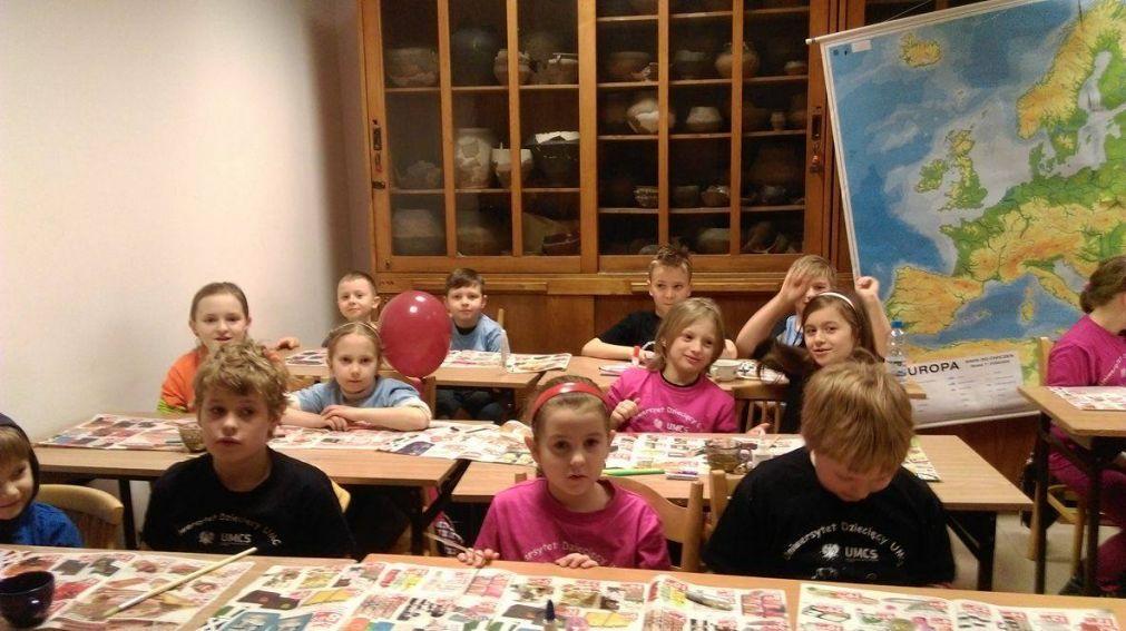 """Archeologia i dzieci, czyli """"Tajemnice..."""