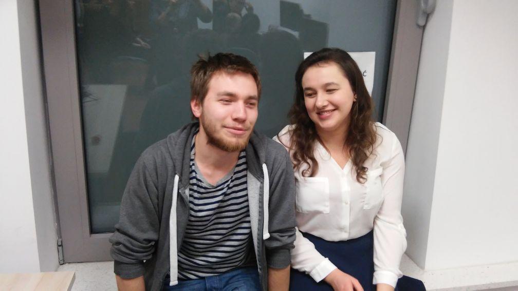 Magdalena Drwal i Krzysztof Czerwiński