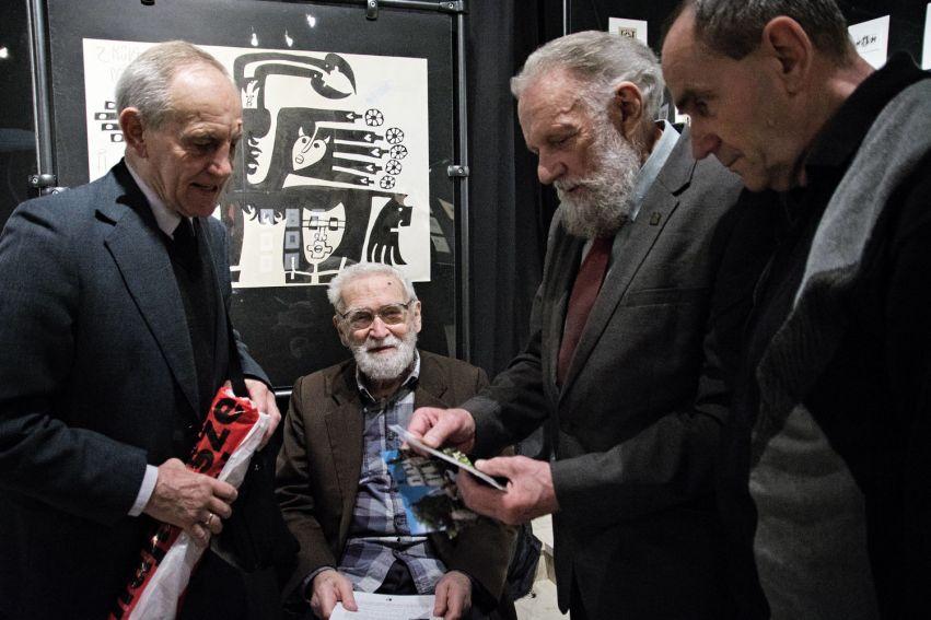 """""""Andrzej Kot 1946-2015. Grafika, rysunek, kaligrafia ex..."""
