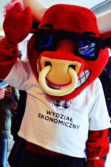 Maskotka Wydziału Ekonomicznego UMCS