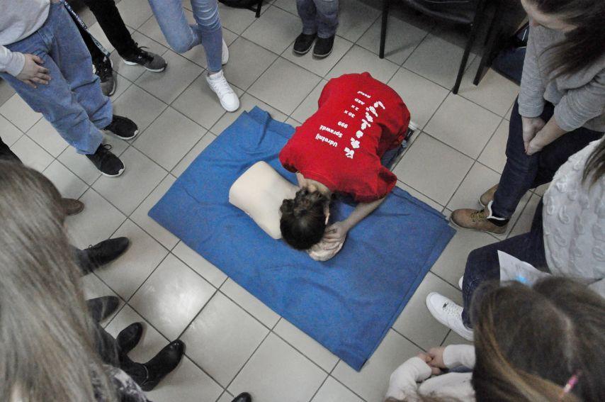 Wiosenne warsztaty z pierwszej pomocy przedmedycznej