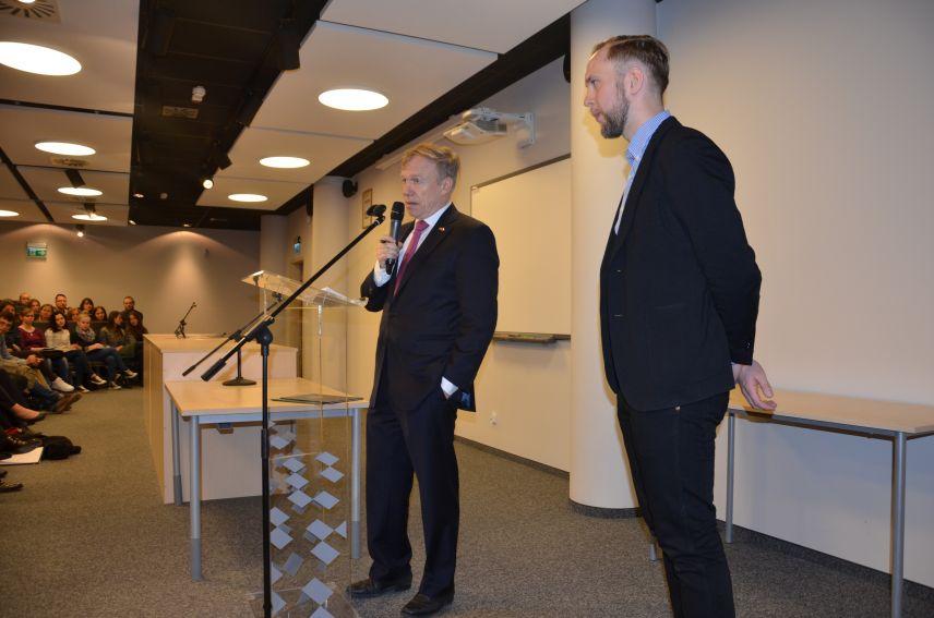 Spotkanie z ambasadorem Niemiec (27.04.2016)