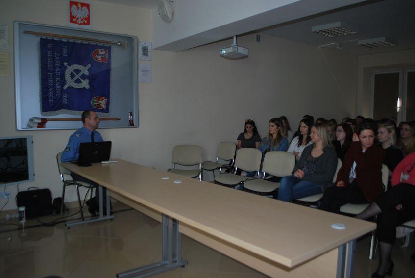 Wizyta studentów Pedagogiki resocjalizacyjnej - II rok,...
