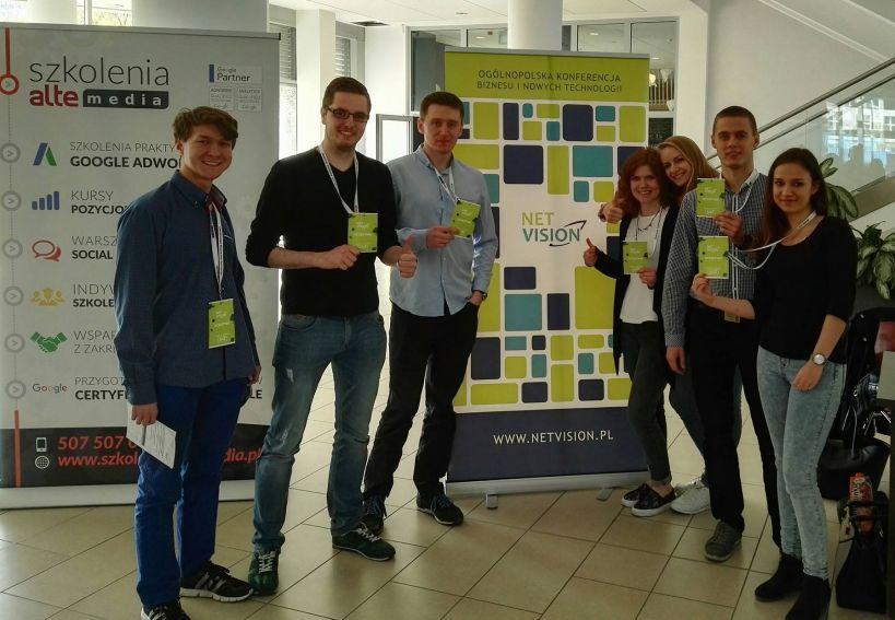Samorząd Studentów WE na Konferencji NETVISION