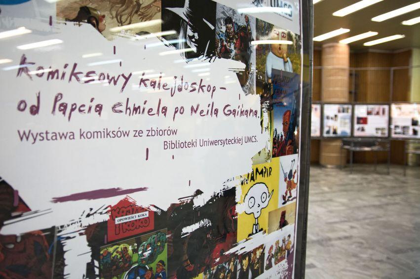 Wystawa Komiksowy kalejdoskop. Od Papcia Chmiela po Neila...