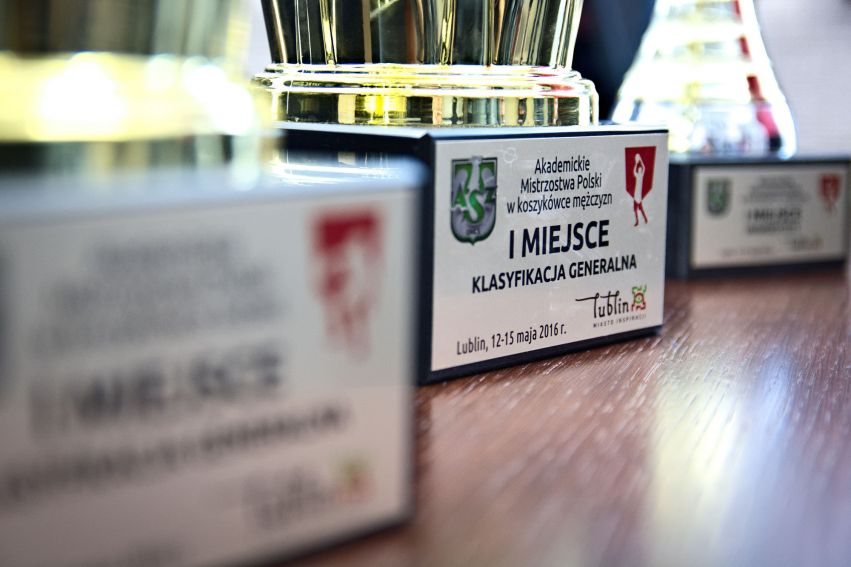 Spotkanie z zawodnikami AZS UMCS - zdobywcami medali na...