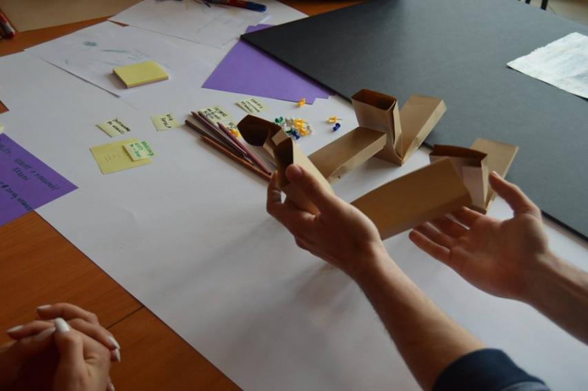Relacja z warsztatów Design Thinking 2016