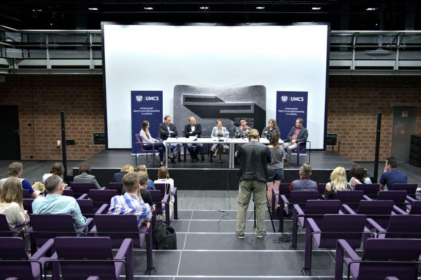 Konferencja prasowa nt. Studium Teatralnego