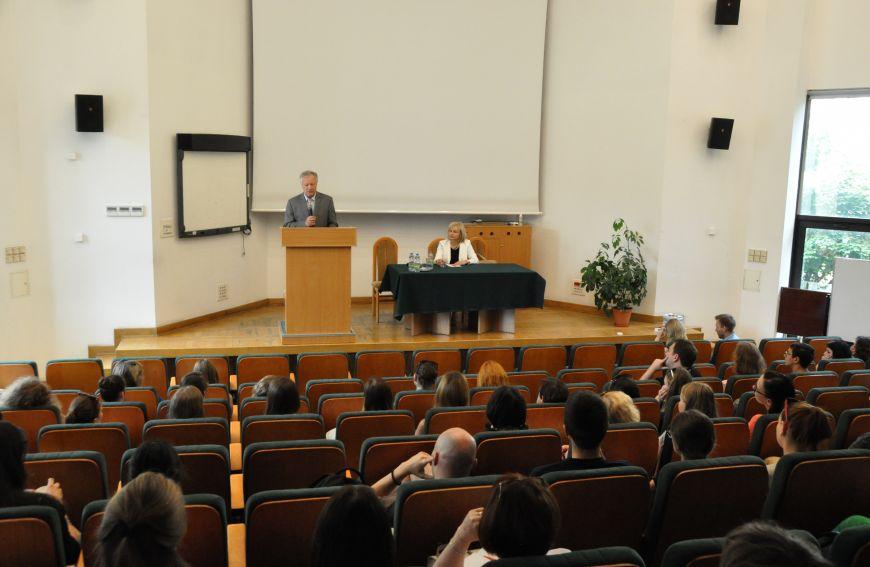 Spotkanie Rektora UMCS z uczestnikami Lata Polonijnego