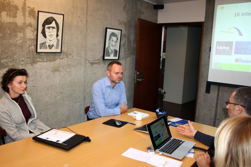 Wizyta studyjna na Uniwersytecie Bifröst
