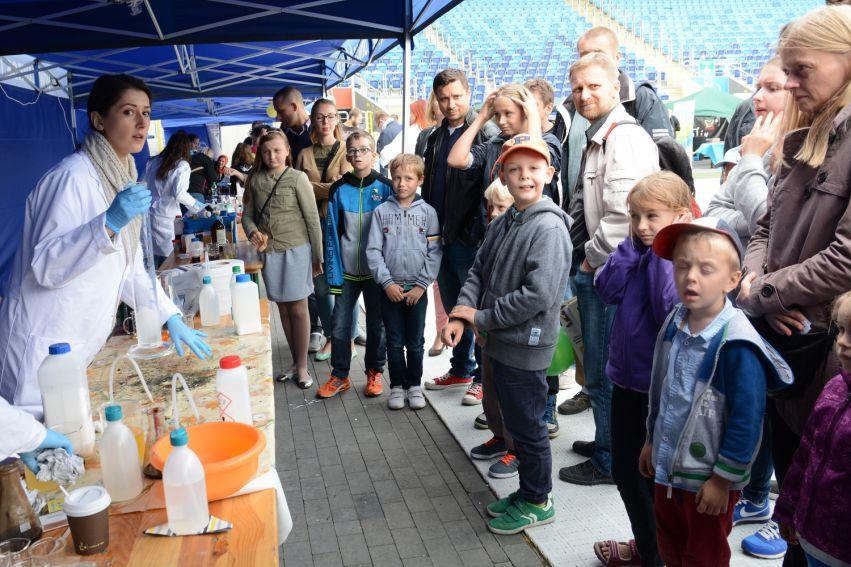 UMCS podczas Lubelskiego Pikniku Naukowego 2016