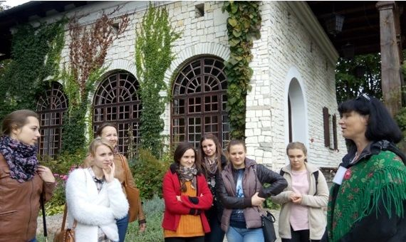 Wakacyjny staż studentów z Mińska