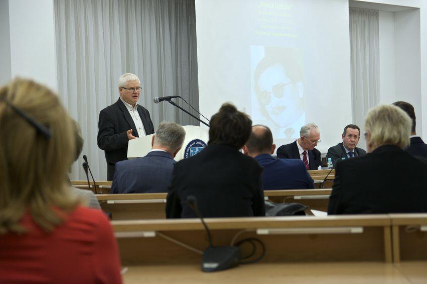 """Konferencja """"Praca ludzka"""" UMCS 29.09.-1.10.2016"""
