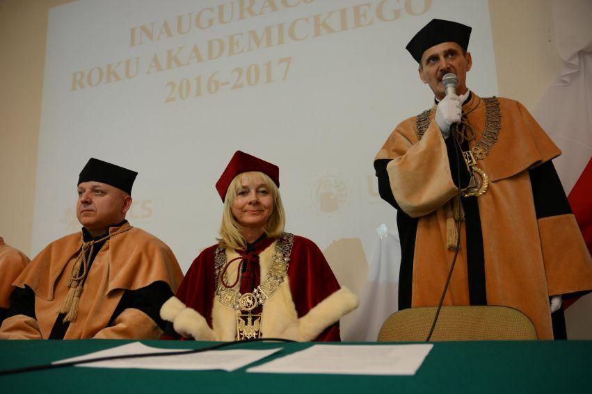 Immatrykulacje studentów w roku akademickim 2016/2017
