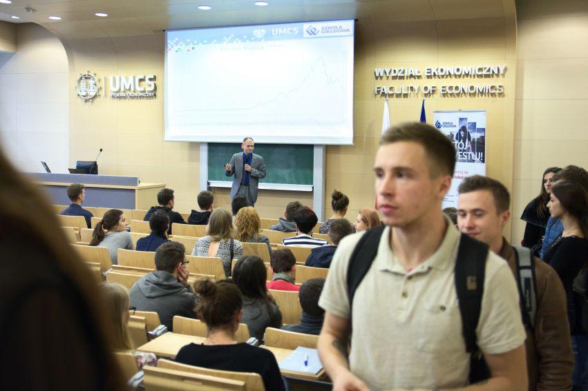 Uroczyste otwarcie Szkoły Giełdowej na Wydziale...