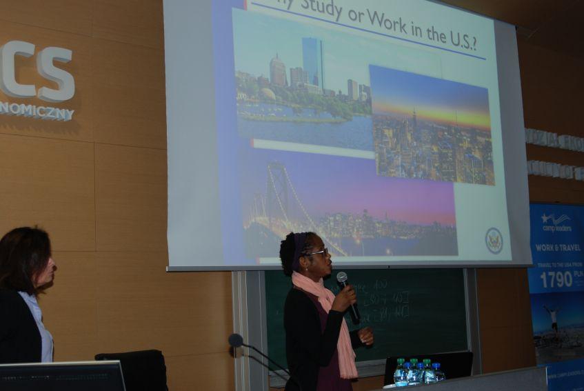 Konsul USA na WE/Światowy Tydzień Przedsiębiorczości