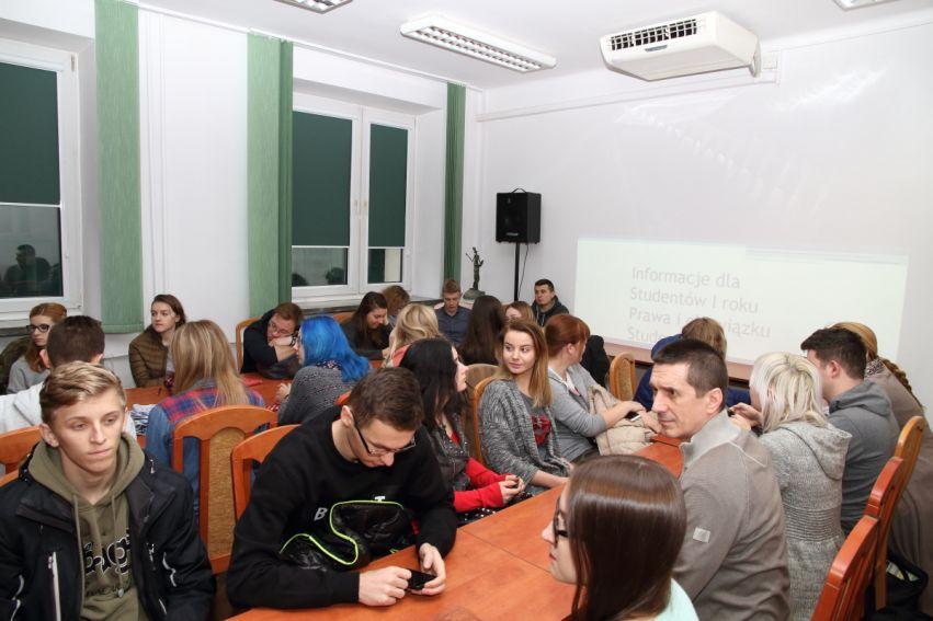 Szkolenie dla Studentów lat pierwszych organizowane przez...