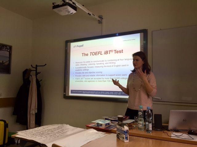 Warsztaty Propell Workshop for the TOEFL iBT Test w...