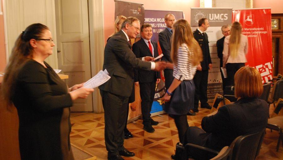 Zwycięzcy II etapu Olimpiady Wiedzy o Bezpieczeństwie i...