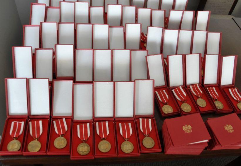 Wręczenie medali KEN