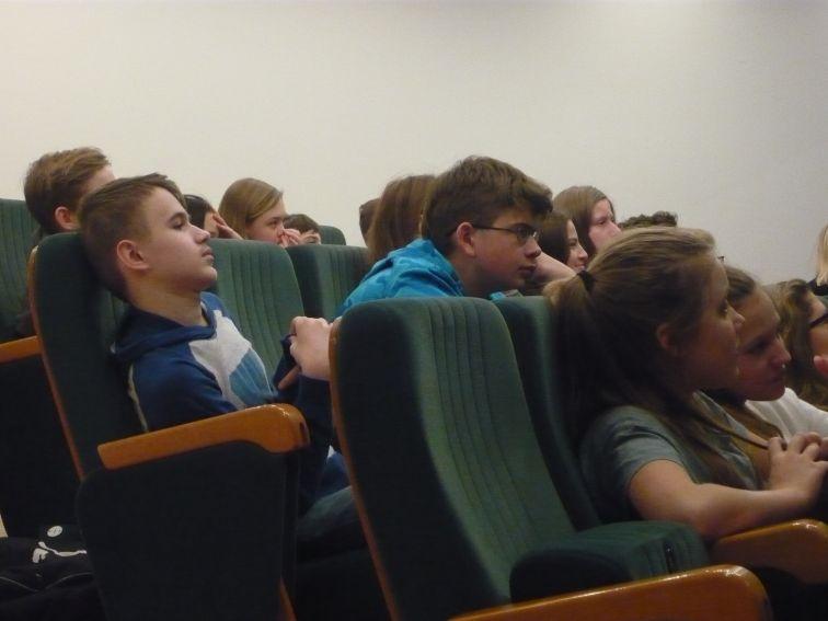 14.12.2016r. - wykład dla uczniów ze szkół partnerskich