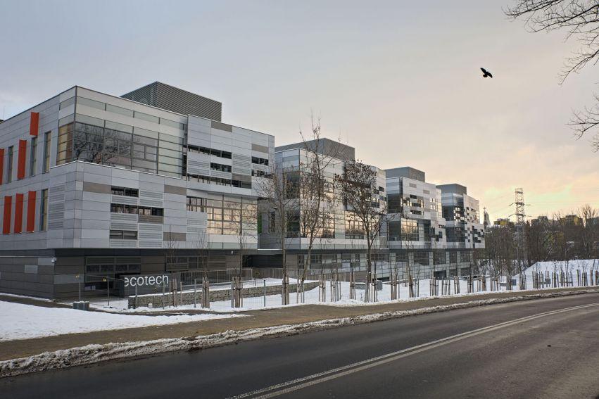 Centrum ECOTECH-COMPLEX zimą