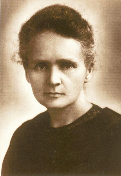 Portret Marii Skłodowskiej-Curie 1913 r.