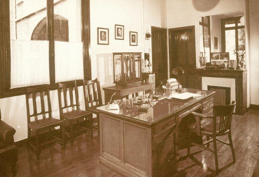 Biuro dyrektora Laboratorium Curie