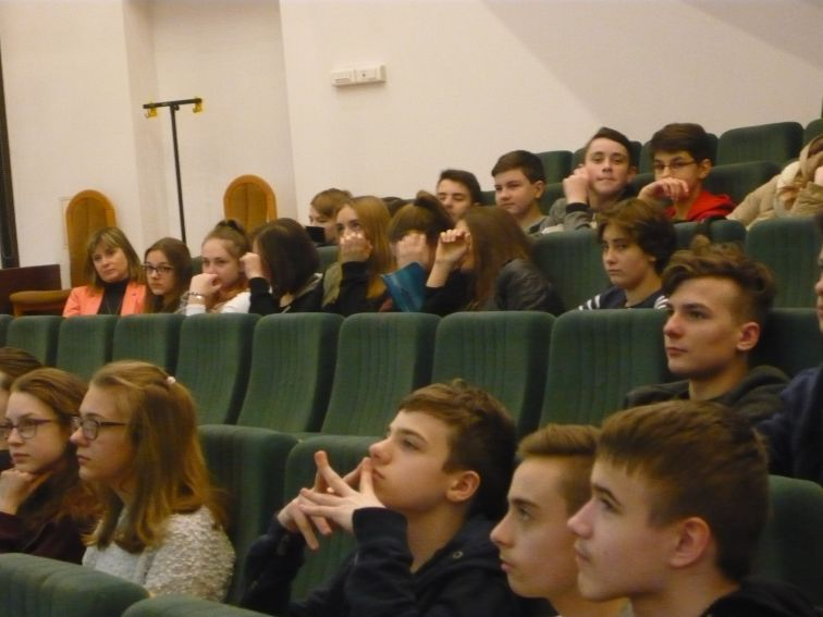 Warsztaty dla akademickiej klasy językowej z Gimnazjum nr...