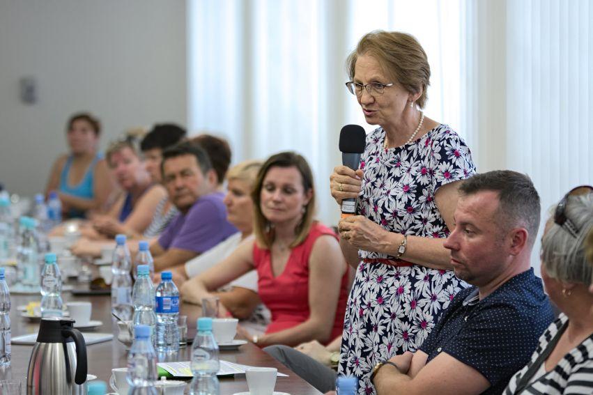 Wizyta delegacji z Uniwersytetu Złotego Wieku w Bieczu