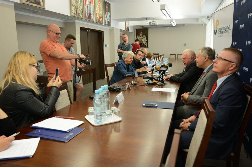 Związek Uczelni Lubelskich - konferencja prasowa