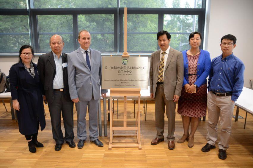 Polsko-Chińskie Centrum Badawcze Green Pharmaceuticals w...