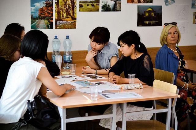 Goście z Kobe College w Instytucie Anglistyki UMCS