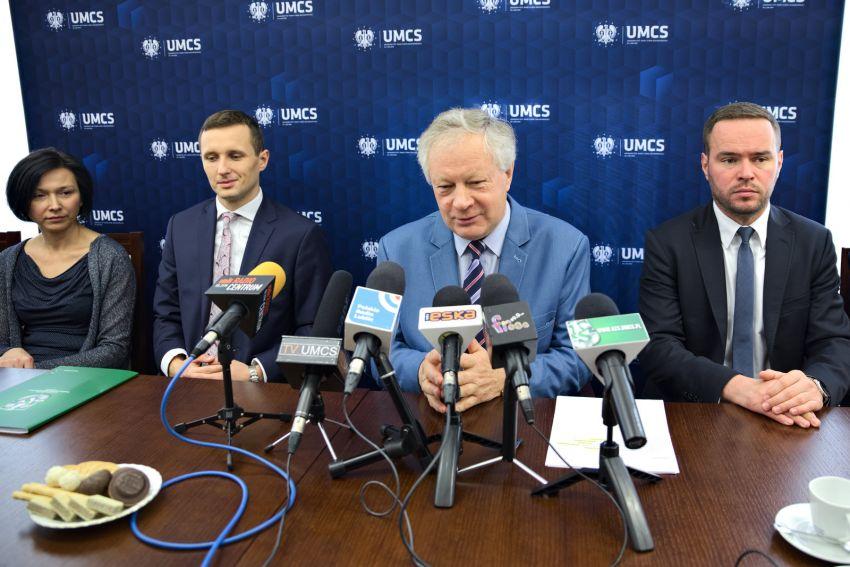 Konferencja prasowa dot. sportu akademickiego