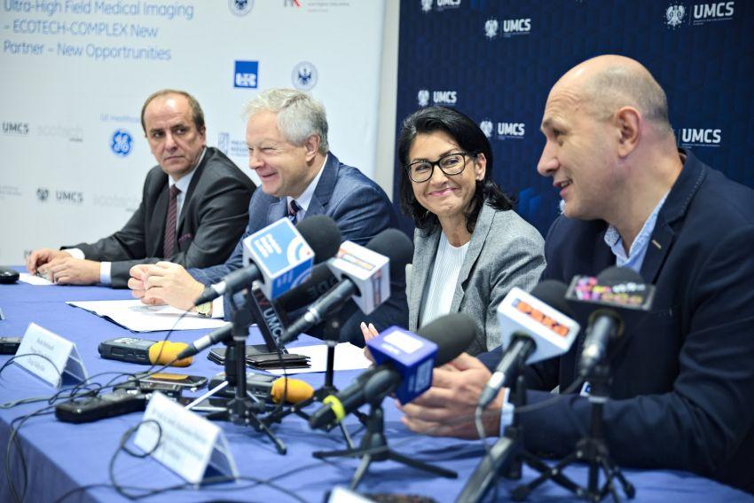 Konferencja prasowa w ECOTECH-COMPLEX