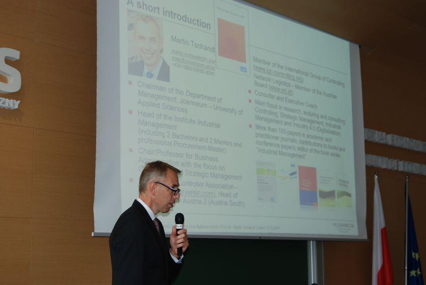 Prof. Tschandl i prof. Balcerowicz na WE