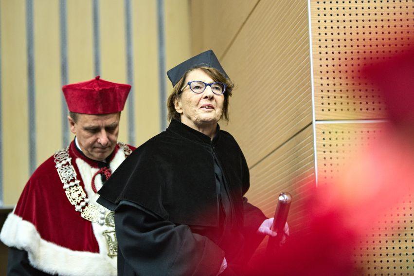 Odnowienie doktoratu prof. Poźniak-Niedzielskiej