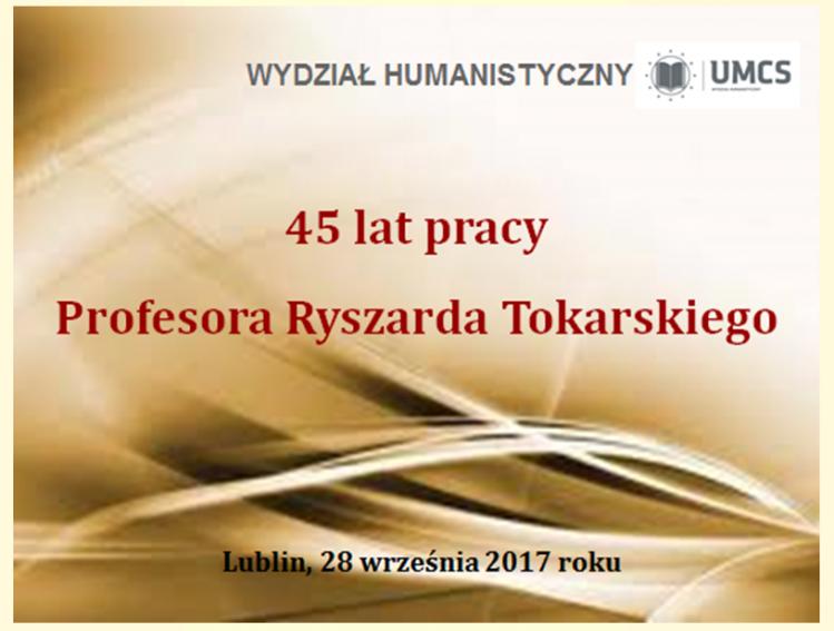 28 września 2017 roku w Sali Obrad Rady Wydziału...
