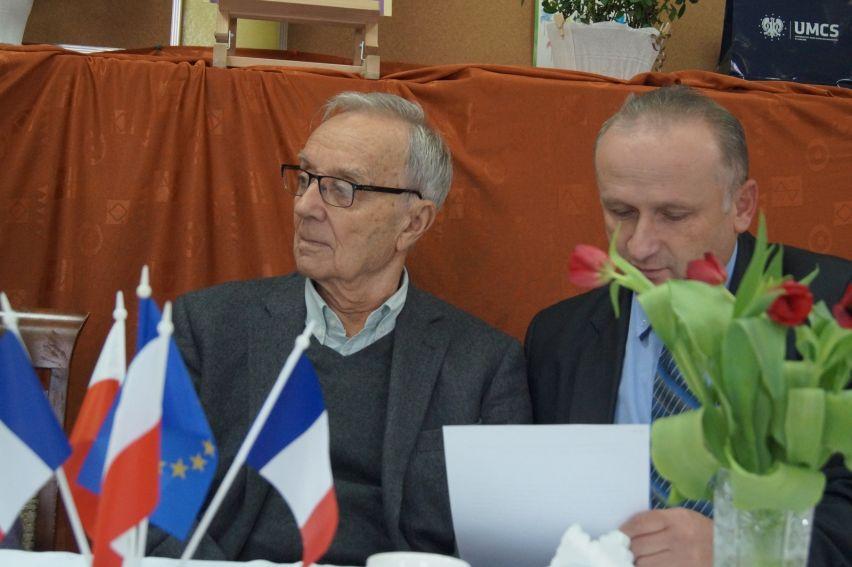 Delegacja z Paryża w Zawieprzycach