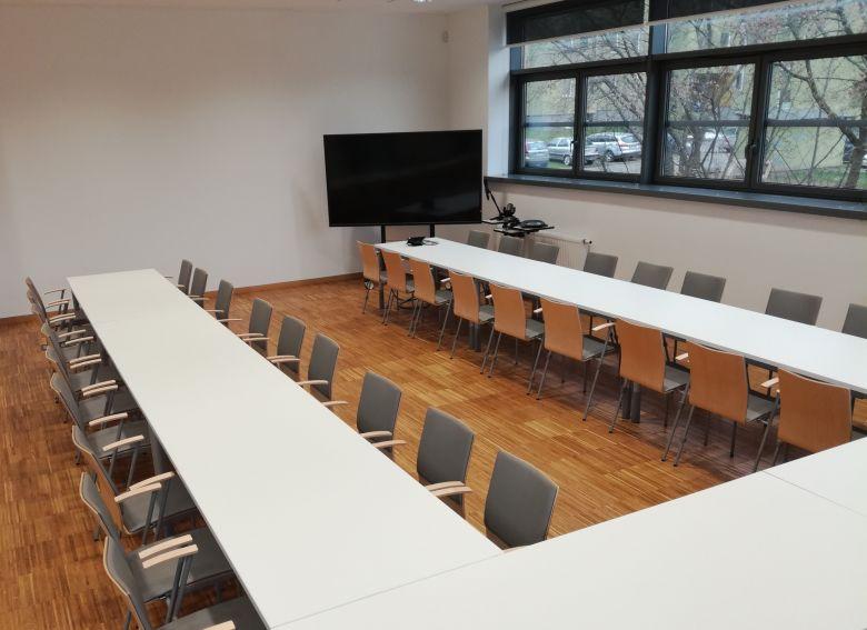 Sala konferencyjna w Centrum ECOTECH-COMPLEX