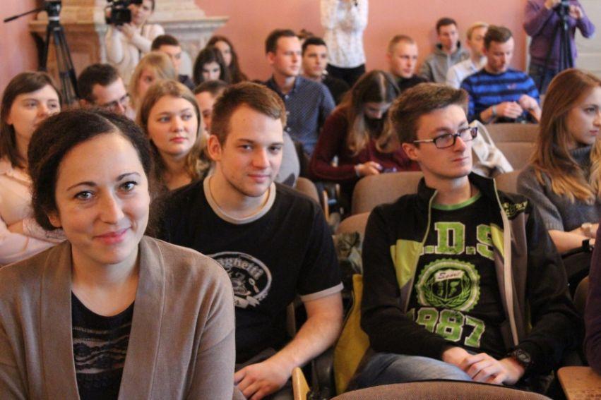 """Spotkanie z dziennikarzami portalu """"Łączy nas..."""