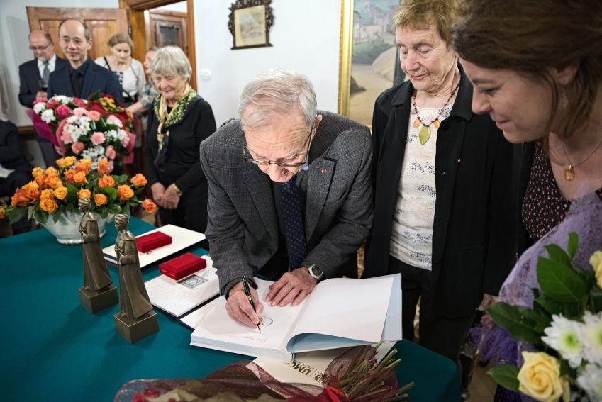 Kolacja w Dworku Kościuszków - z udziałem wnuków Patronki...