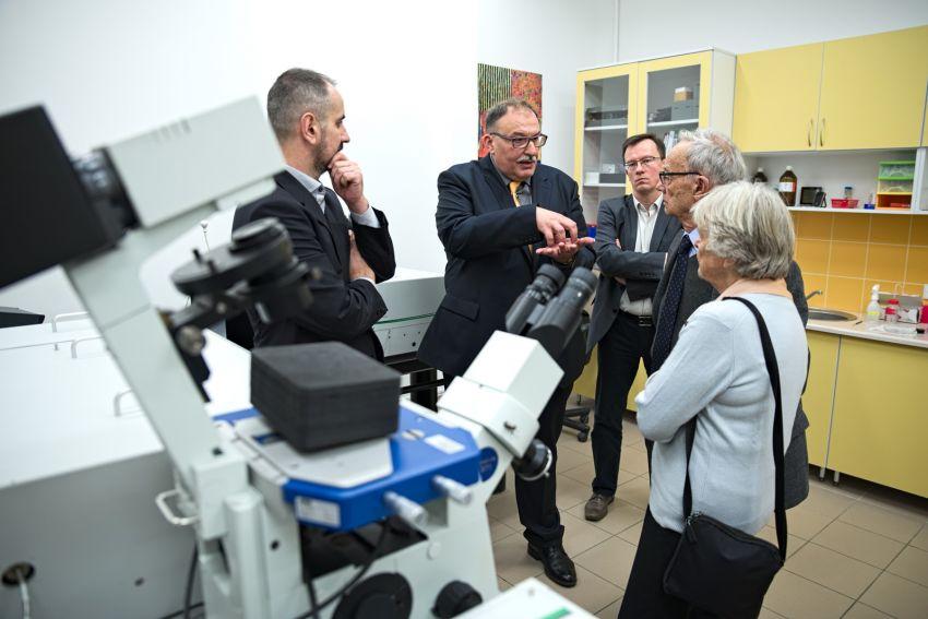 Spotkanie z zespołem badawczym prof. Gruszeckiego