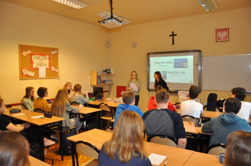Promocja Zakładu Lingwistyki Stosowanej UMCS w szkole...